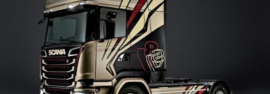 Scania Ghost V8 Sound v3.0