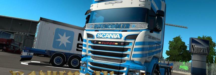 Scania RJL Hans Lubrecht skin 1.30