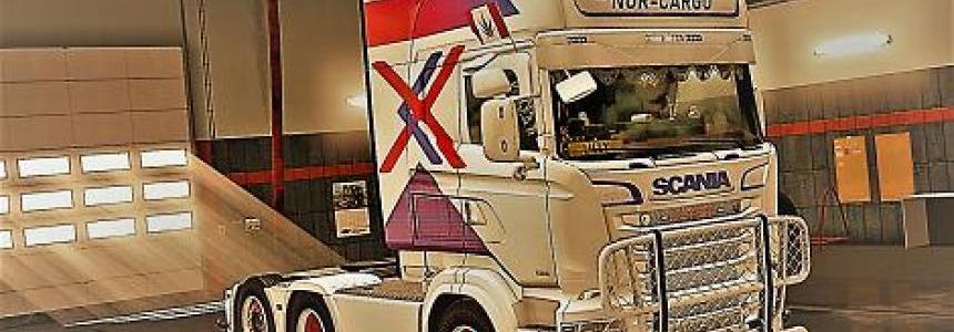 Scania RJL R & S Nor Cargo Skin v1.0