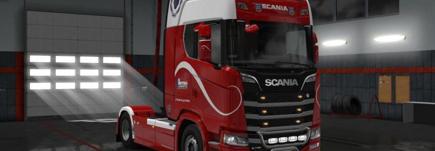 Scania S 2016 Inter Logistic skin 1.30
