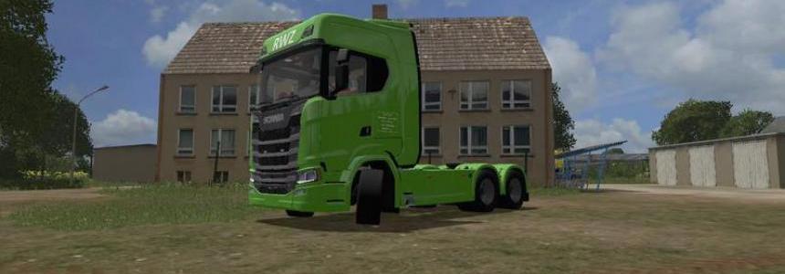 Scania S 3 axle v1.0