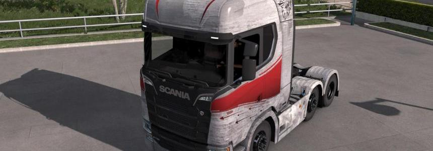 Scania S High Roof (New Generation) Skin by l1zzy v1.0.3