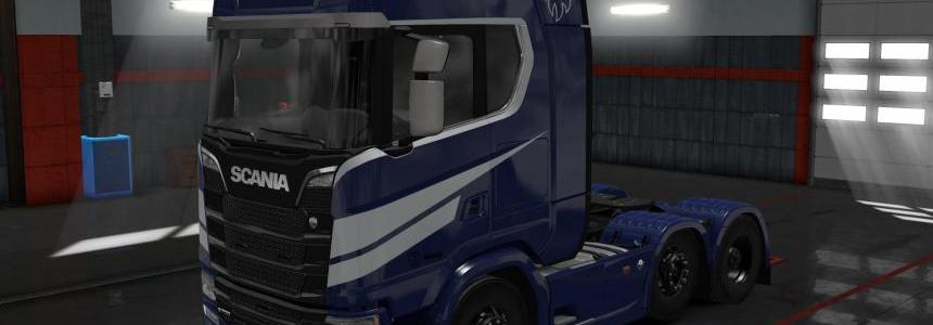 Scania S High Roof Skin by l1zzy v1.0.2