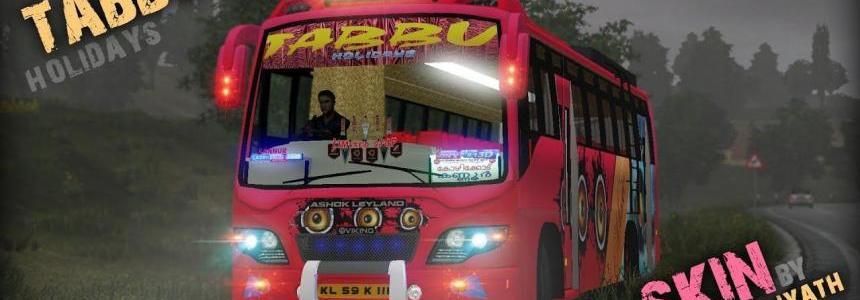 Tabbu Skin for Ashok Leyland v0.2