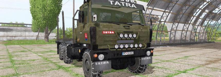 Tatra T815 6x6 forest v1.0
