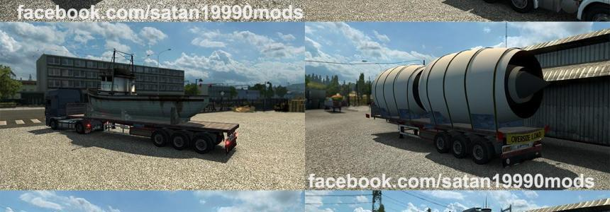 TMP - Flatbed trailer v1.2