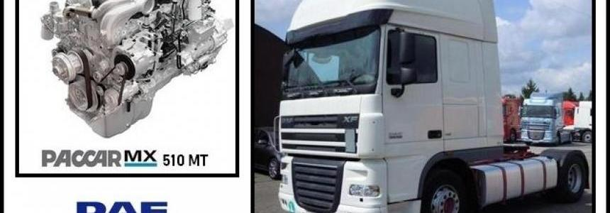 Truck parts for DAF XF 105 by vad&k v5.5