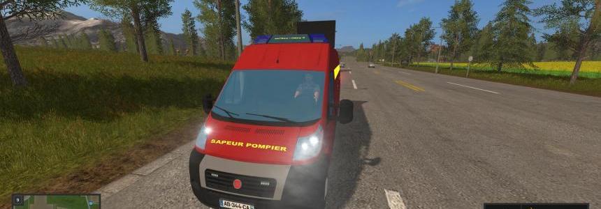 Vehicules balisage sapeur pompier v2.0