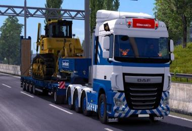 100 Ton Heavy Cargo Trailers for Multiplayer 1.30.x