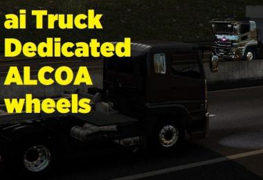 AI Truck Dedicated Alcoa Wheels v1.0