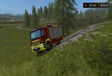 Antos Fire Department Skin Fictional v1.0