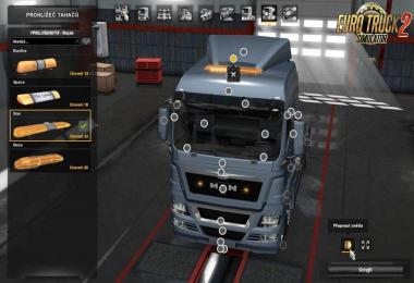 Beacons for MAN TGX 2010 v1.0