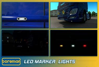 Boreman LED Marker Lights v1.0