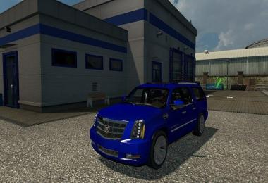 Cadillac Escalade ESV for ATS FIXED FLARES