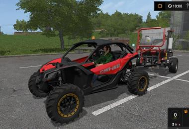 CAN-AM MAVERICK X3 turbo v1.1