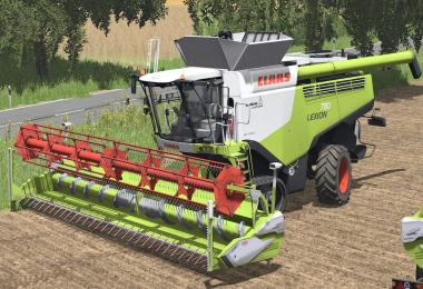 Claas Lexion 700 series new v1.0
