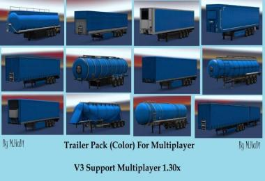 Colorful pack trailer for Multiplayer & Single player v1.0