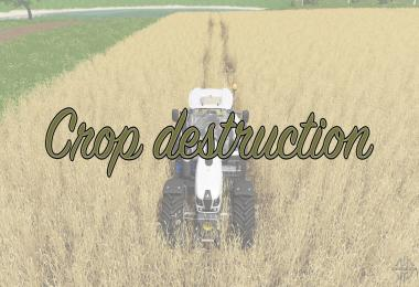 Crop destruction v1.0
