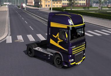 DAF XF 105 Metallic Paintjob Pack - 3 Different Colours 1.30.x