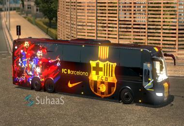 FC Barcelona Volvo Skin v1.0