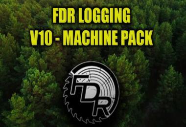 FDR Logging - V10 Machine Pack