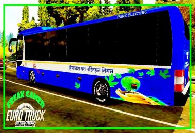 Hrtc Himtarang Skin for Man lion bus for 1.30