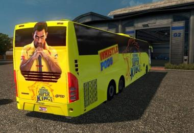 Indian Volvo bus IPL Skins