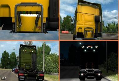 Kelsa Lightbars for DAF XF 105 & 106 v1.42 (15.02.2018)