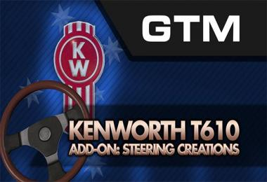 Kenworth T610 Addon: Steering Wheel Creations v1.0