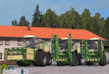 Krone Big X 580 Pack v1.0
