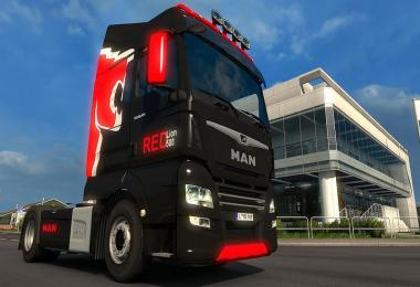 MAN TGX Euro 6 by MADster v2.0 ReEdit by BalkanTuF [1.30.x]