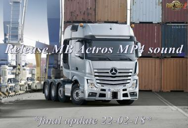 MB Actros Mp4 Sound - final update