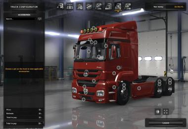 Mercedes Axor 1.30s for ATS UPDATED v1.0