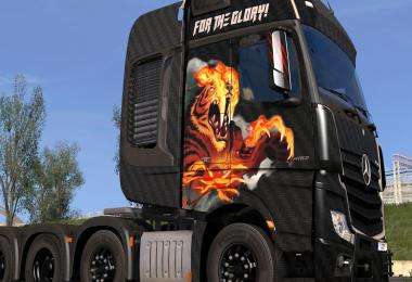 Mercedes Benz Actros 2014 - For The Glory! Paintjob 1.30.x