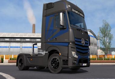Mercedes Benz Actros 2014 - Metallic Paintjob by l1zzy
