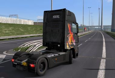 Mercedes Benz Actros 2014 - Rise Paintjob by l1zzy 1.30.x