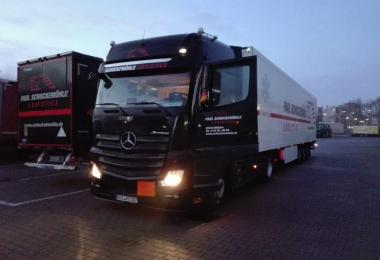 Mercedes New Actros 1845 Euro6 Sound v2.0