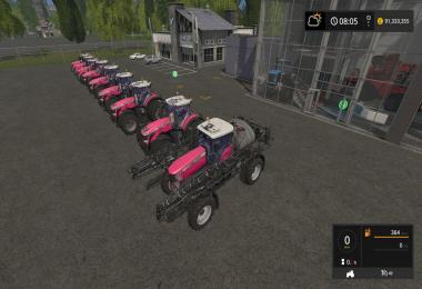 MF update with Race for Life Pink v1.0