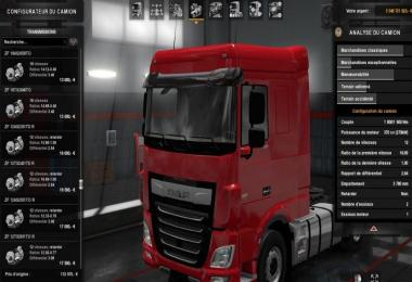 Modified Gearboxes for DAF Euro 6 v1.0
