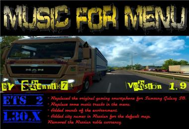 Music for Menu v1.9