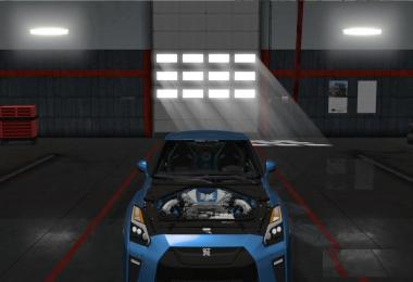 Nissan GTR 2017 By KadirYagiz for ATS v1.0