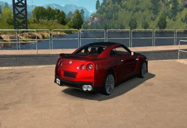 Nissan GTR 2017 v3.0 (New engine) Fatser