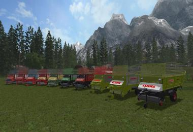 Old Forage Wagons v1.0.0.0