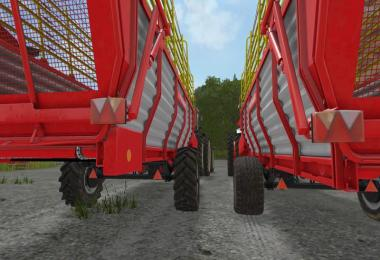 Pottinger EuroBoss 330T with twin tires v2.0
