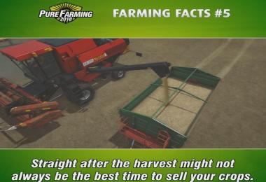 Pure Farming Facts #5: Stock Market