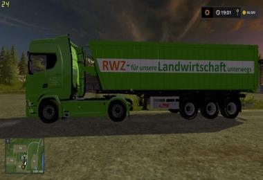 Raiffeisen Skin for Fliegl Green Line trough v1.0