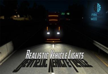 Realistic Vehicle Lights v2.6 1.30