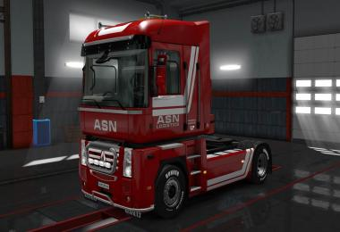 Renault Magnum ASN Logistics skin 1.30