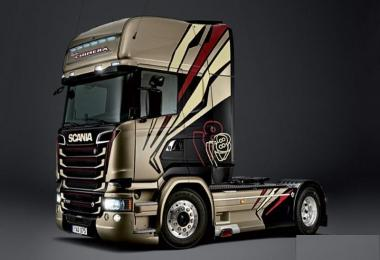 Scania Ghost V8 Sound v3.0