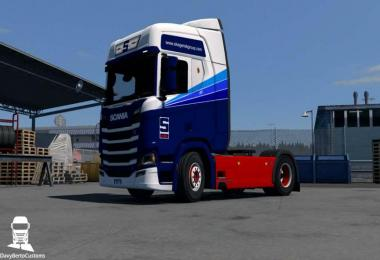 Scania R Next Gen Skagerak Group Skin